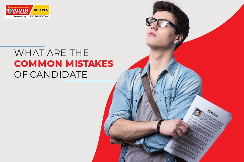 Common mistakes of candidates